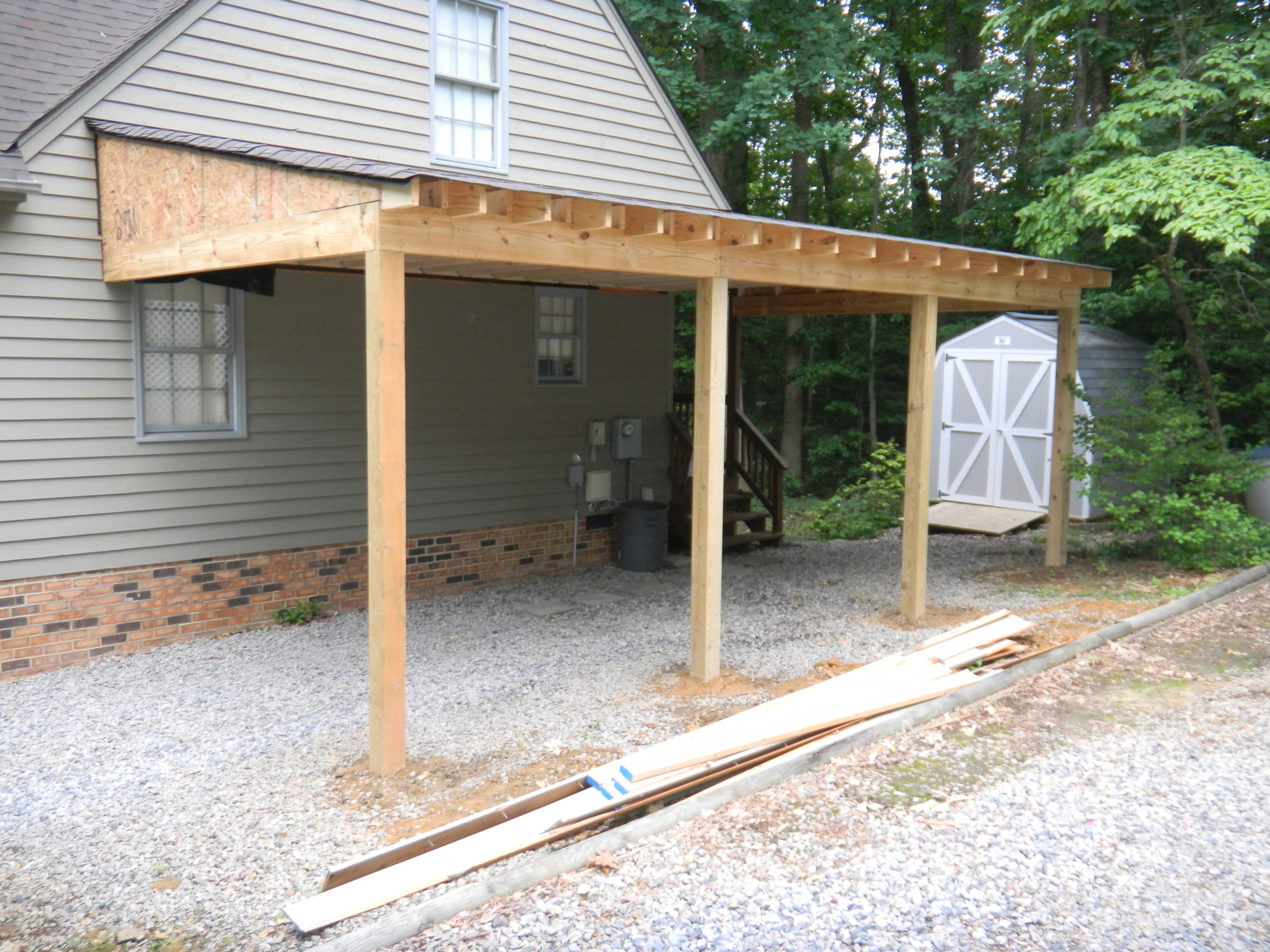 Most Effective Ways To Overcome Attached Carport's Problem | attached carport