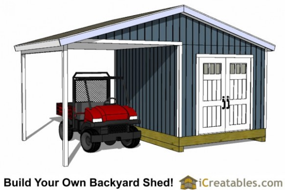 14 Things You Won't Miss Out If You Attend Storage Building With Carport | storage building with carport
