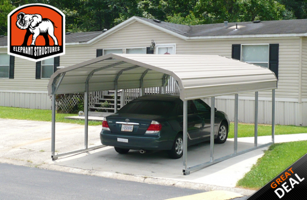 Everything You Need To Know About 155 Car Metal Carport   15 car metal carport
