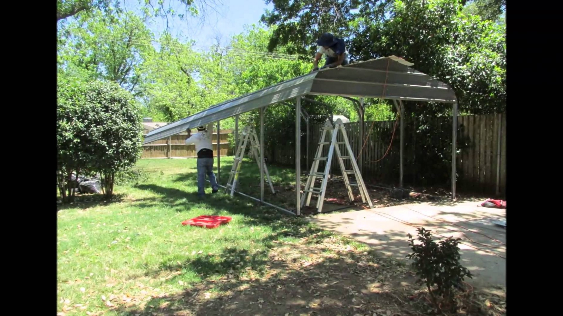 What You Should Wear To Carport Installation | carport installation