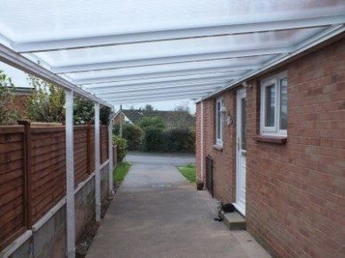 Things That Make You Love And Hate Side Alley Canopy | side alley canopy