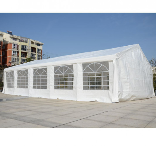 8 X 8 Heavy Duty White Party Tent Outsunny White Carport Party Tent Canopy