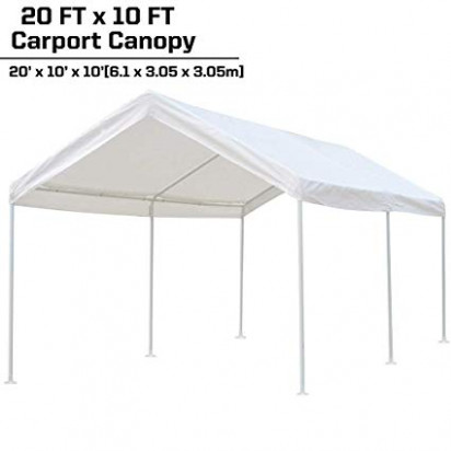 Amazon.com: KdGarden 9 X 9 Ft. Carport Car Canopy Portable Garage ..