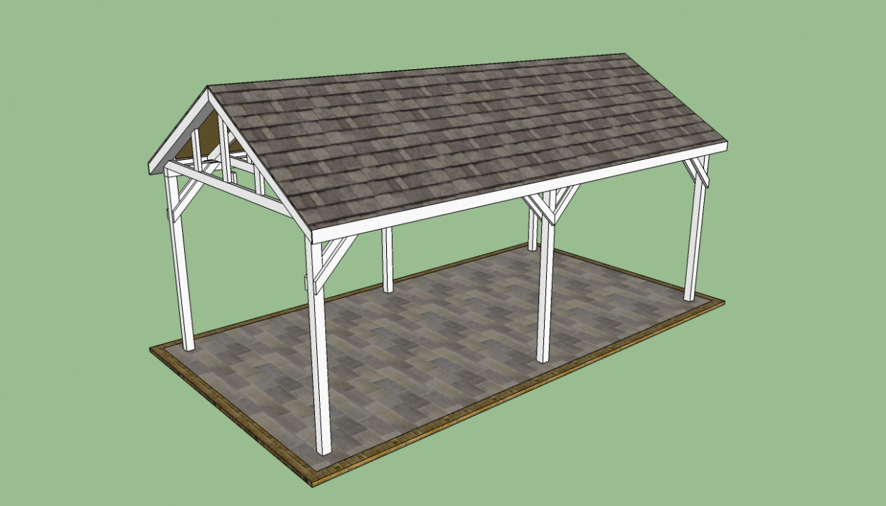 Attached Wood Carport Kit Prices Interior Decorating ..