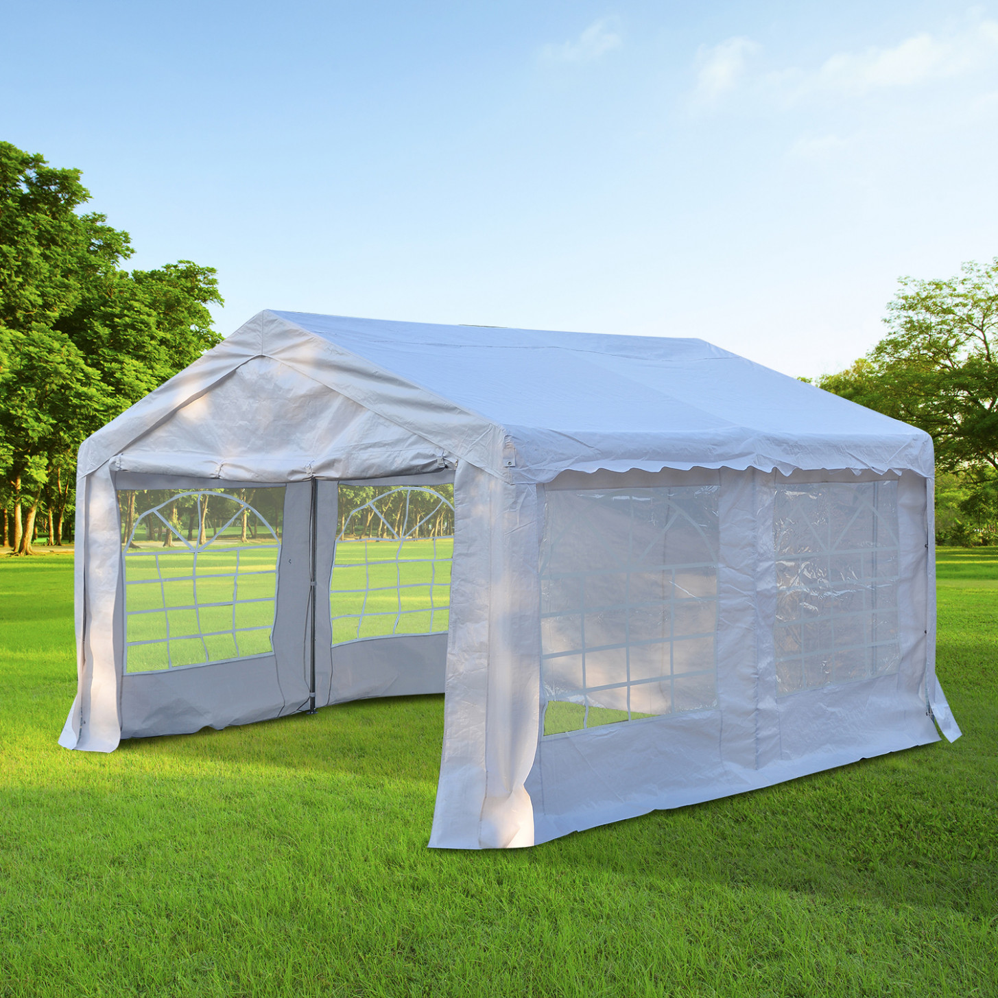 Cheap Canopy Tent For Sale Canada | Page 10 Outsunny White Carport Party Tent Canopy
