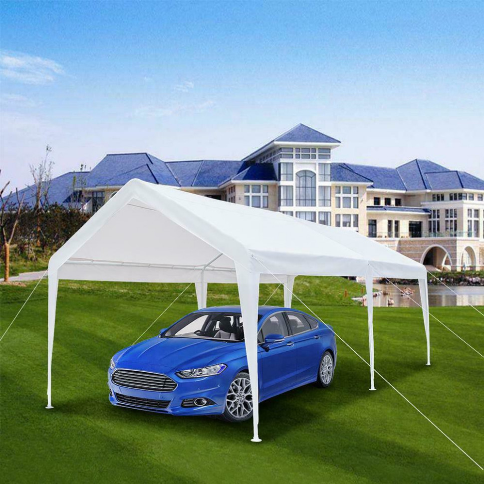 Gazebo Carport Car Garage Tent Portable Auto Shelter Awning Canopy Shed Marquee Tent Carport Canopy