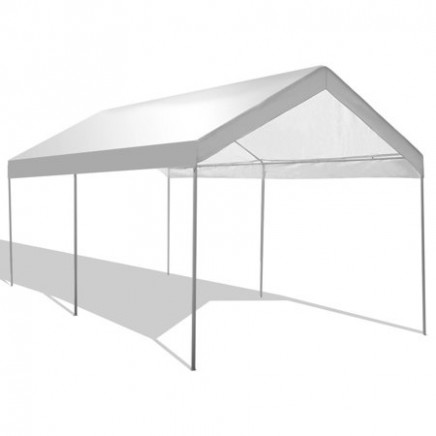 Gymax Steel Frame Party Tent Canopy Shelter Portable Car Carport ..