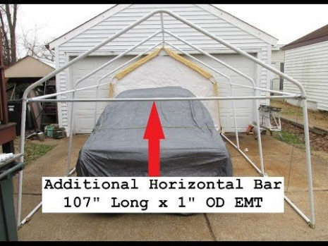 how to move a portable carport