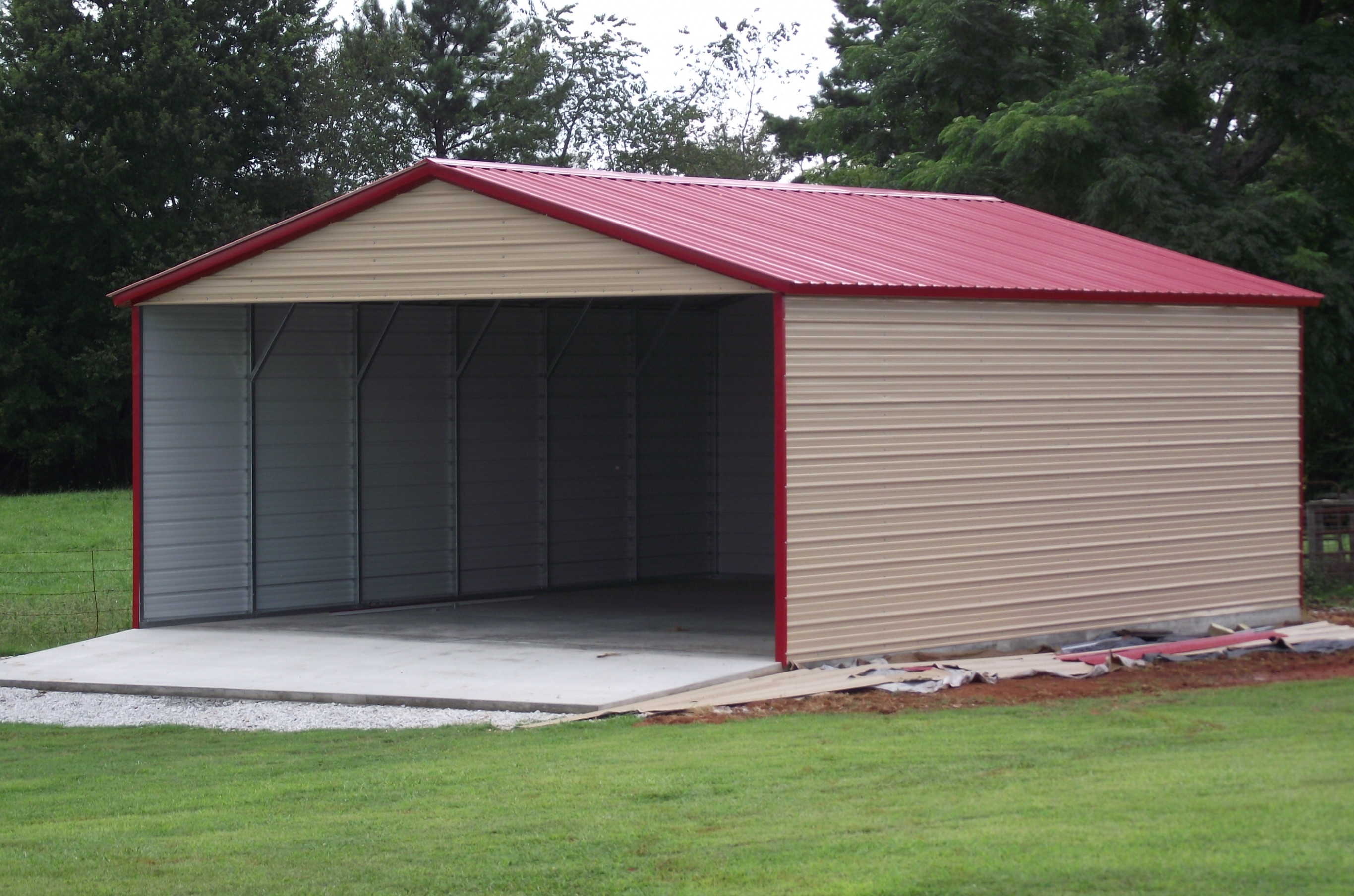 Metal Roof Carports Example Pixelmari