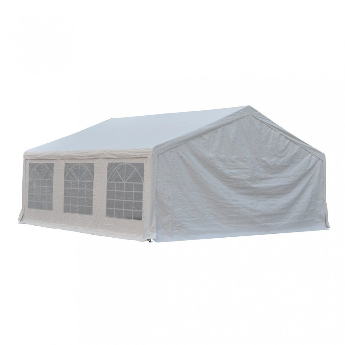 Outsunny HEAVY DUTY 13x13FT Large Carport Canopy Wedding Event Party ..