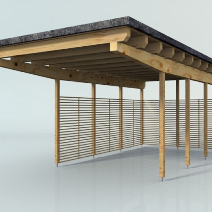 Wooden Carport Blend Swap : PrestigeNoir
