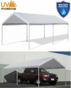 12 x 12 Canopy Shelter Tent Cover Car Carport Boat Garage Party ...