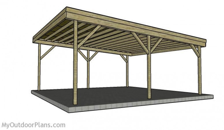 Building a double carport plans | How to build a carport in 112 | 12 ...