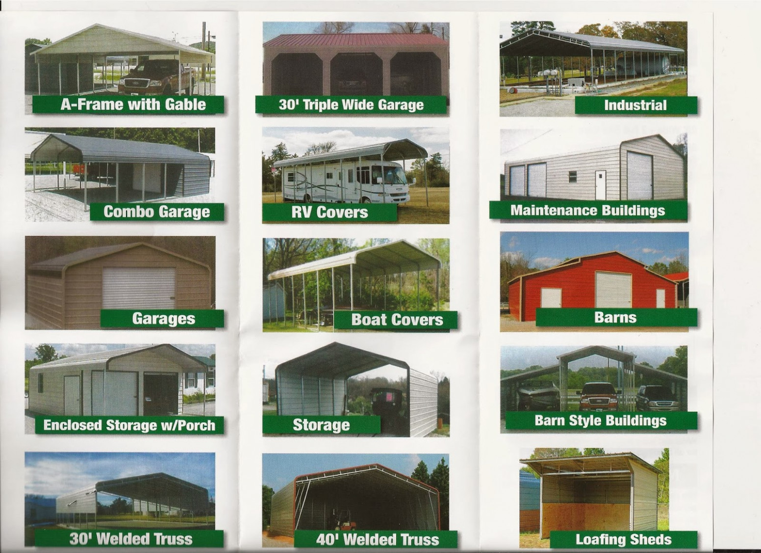 Carports and Portable Buildings | Lizards On The Roof
