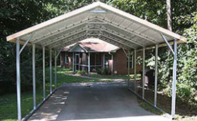 Carports | Metal Carports | Portable Steel Car Ports