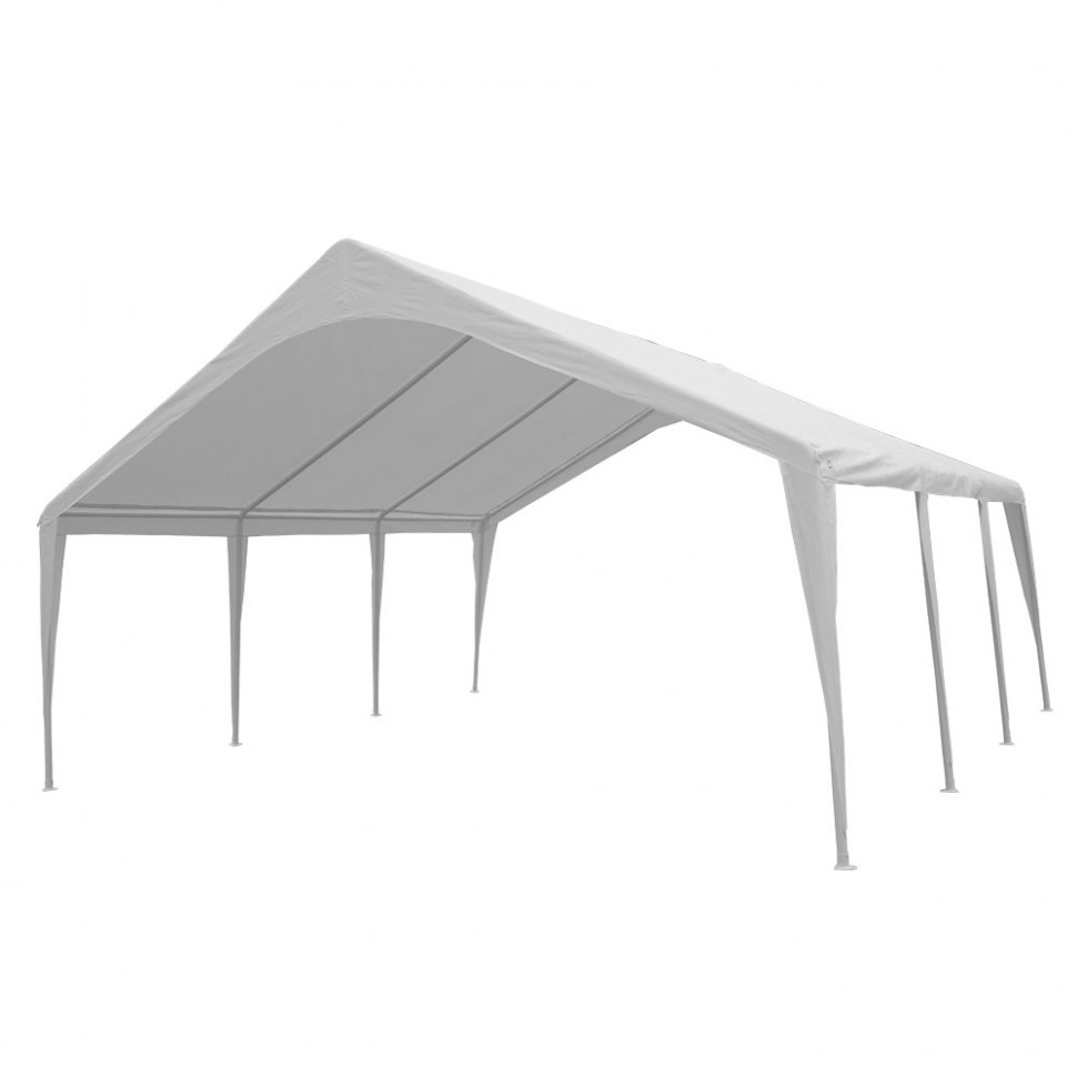 EVENT CANOPY - 9'x9'x9' (9 legs) Portable Carport Wedding Party ...