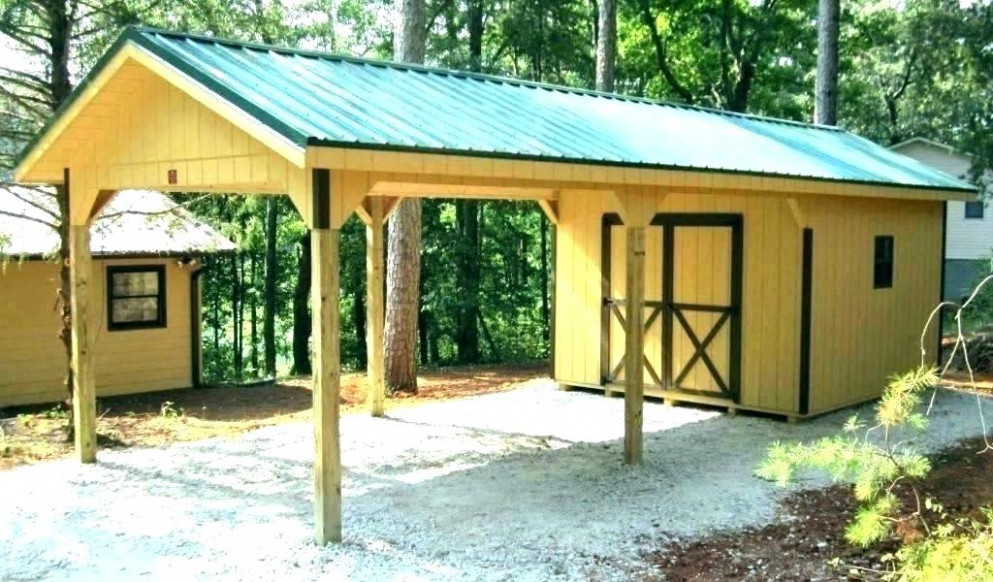 Metal Carports With Storage Metal Carport And Storage Shed Combos ...