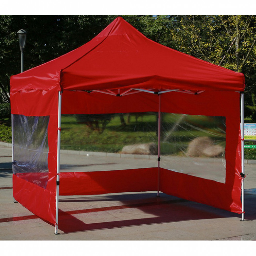 Outdoor Usage Canopy Side Wall Carport Garage Enclosure Shelter Tent ...