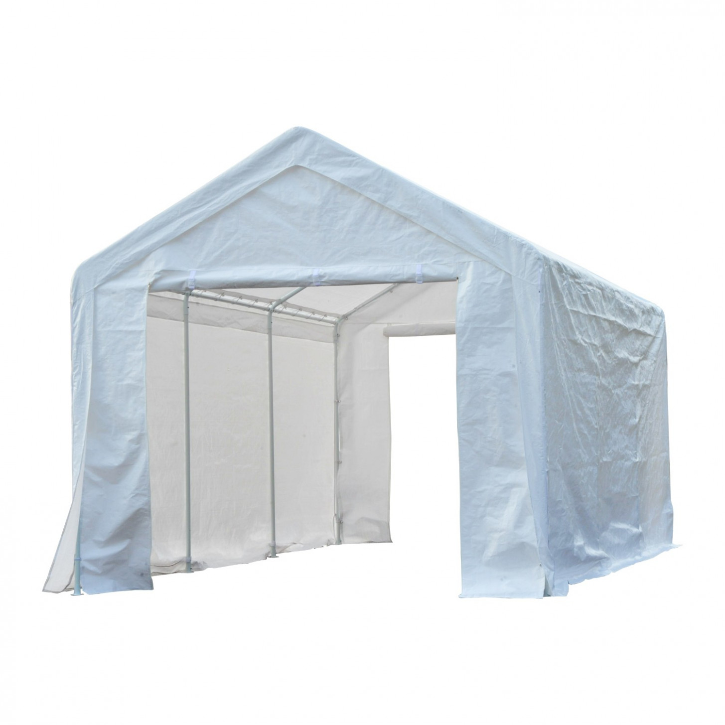 Outsunny 10' x 20' Multi-Purpose Convertible Carport ...