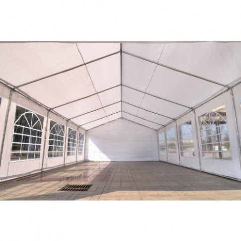 Outsunny 16'W x 32'D Outdoor Carport Canopy Party Tent ...
