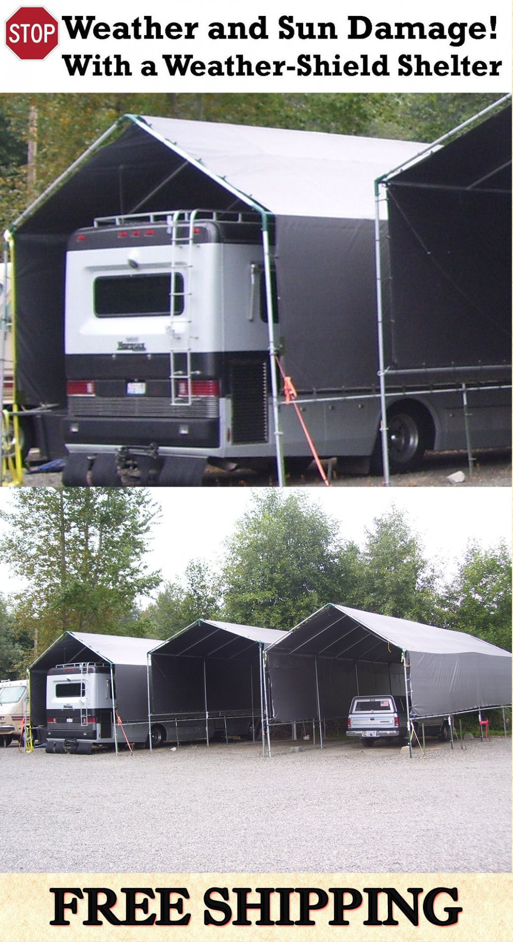 Pin by Amy Austin on Camping | Rv shelter, Rv carports ...