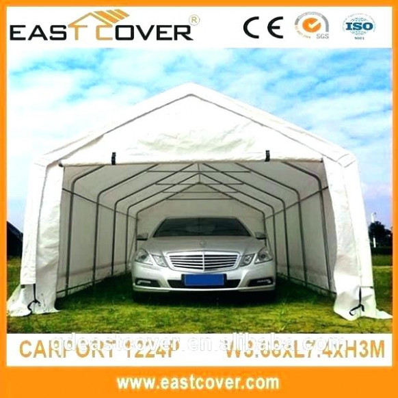 Portable Garage Car Covers Details About Replacement Cover Kit Barn ...