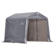 Shelter Logic 9 x 9.9m White Portable Carport With Six Legs