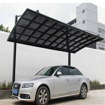 White Metal Frame Canvas Carport With Polycarbonate Sheet,Car Gazebo ...