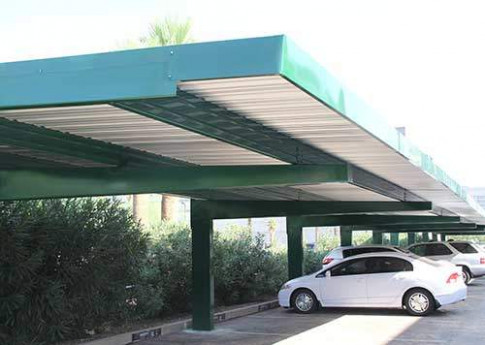 Winter Carport Canopy Full Cantilever Covered Parking ...