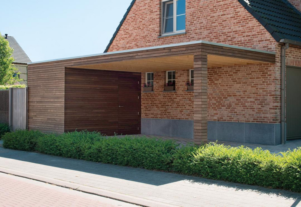 Modern Carport In Timber | Livinlodge Carports Contemporary Buildings