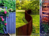 9 Awesome Pallet Fence Ideas To Realize Swiftly In Your ..