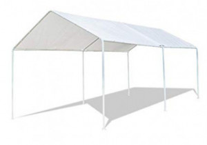 Amazon.com: VINGLI 9'x9′ Domain Carport Car Canopy, Upgraded ..