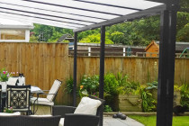 ANTHRACITE GREY CANOPIES AND CARPORTS Contemporary Carports Uk