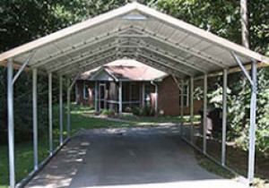 Carports | Metal Carports | Portable Steel Car Ports How To Install A Portable Carport