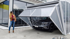 GazeBox Foldable Carport Gazebo Garage For Cars, Motors, Campers And ..