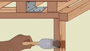How To Build A Carport (with Pictures) WikiHow Wooden Rv Carport Kits