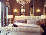 romantic bedroom ideas a stunning chandelier romantic bedroom ideas with rose petals and candles