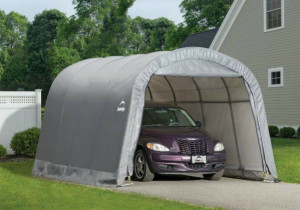ShelterLogic 12×20 Round Shelter Portable Garage Steel ..