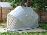 Shybiker: Everybody Needs A Home Hard Top Portable Carport