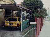 Tram Enthusiast's Homestead Wooden Carport Photos