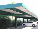 Winter Carport Canopy Full Cantilever Covered Parking ..